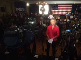 Here's another shot from Kristen on location in Nashua.