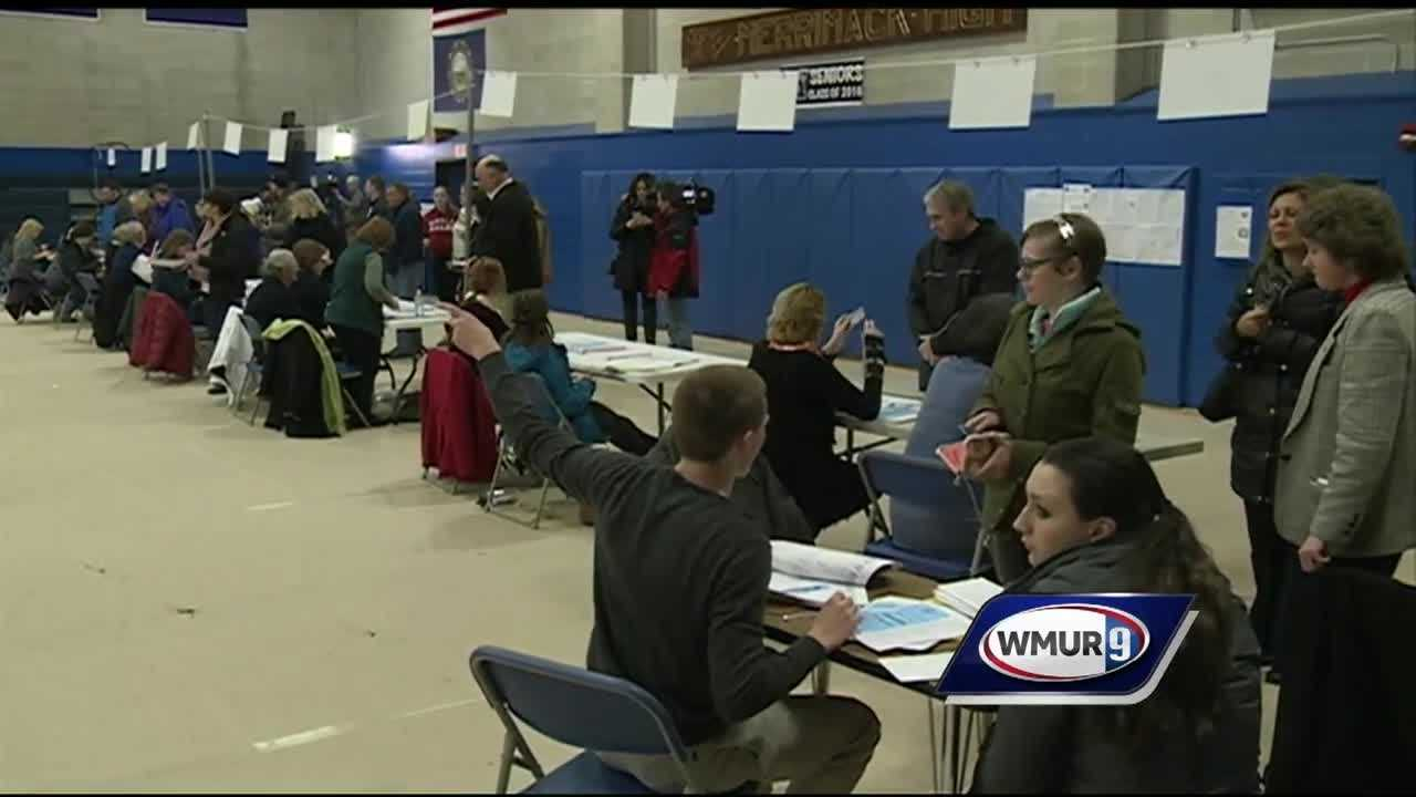 New Hampshire voters might have set a record at the polls in Tuesday's primary.