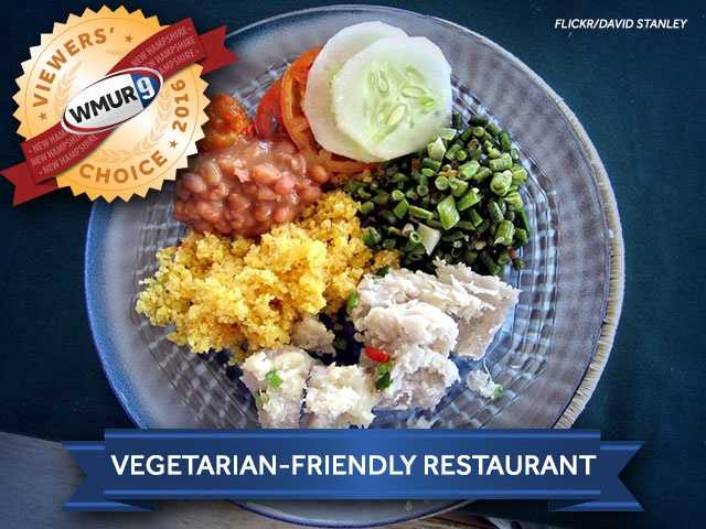 This week, we asked our viewers where to find the best vegetarian-friendly restaurant in New Hampshire. Take a look at the top responses!