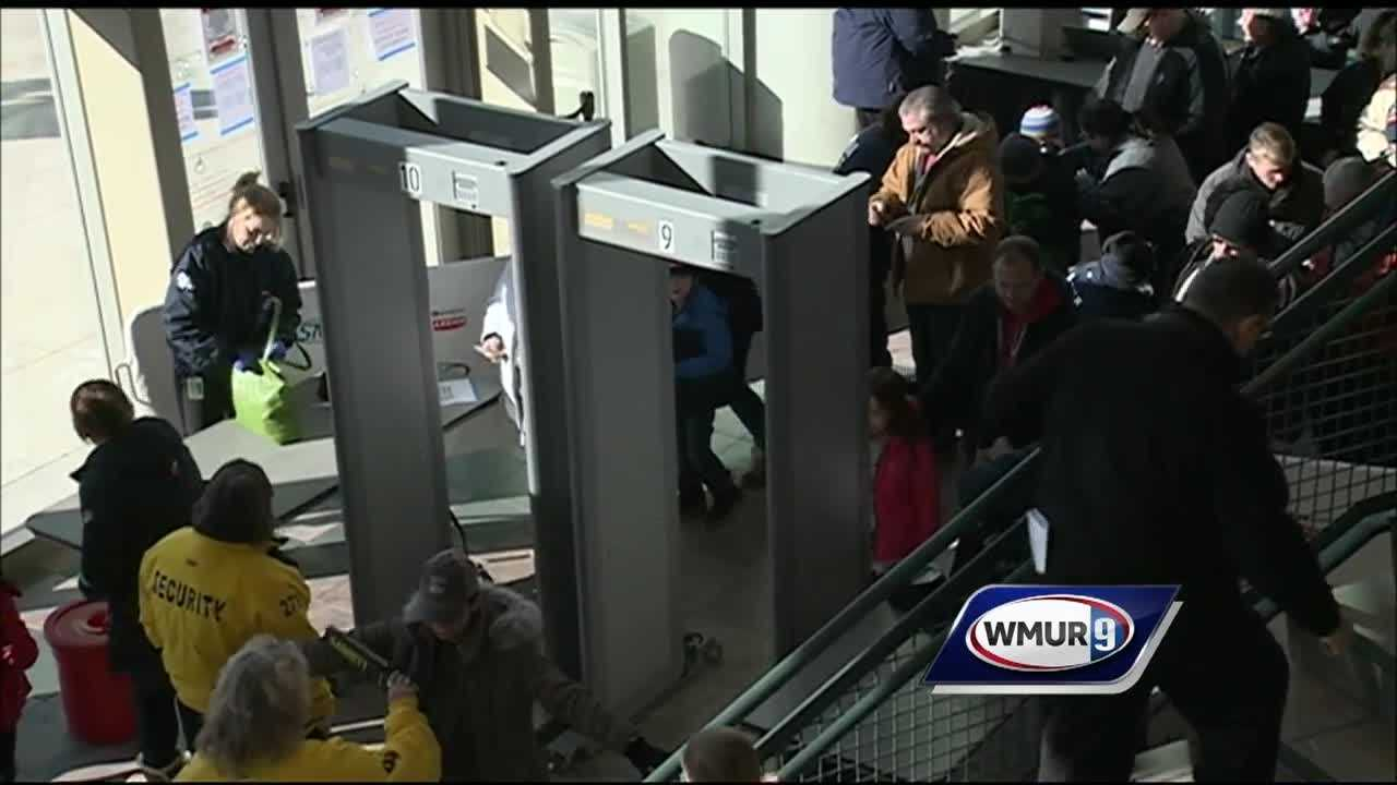 The Verizon Wireless Arena is being proactive and increasing security with new body scanners and rules.