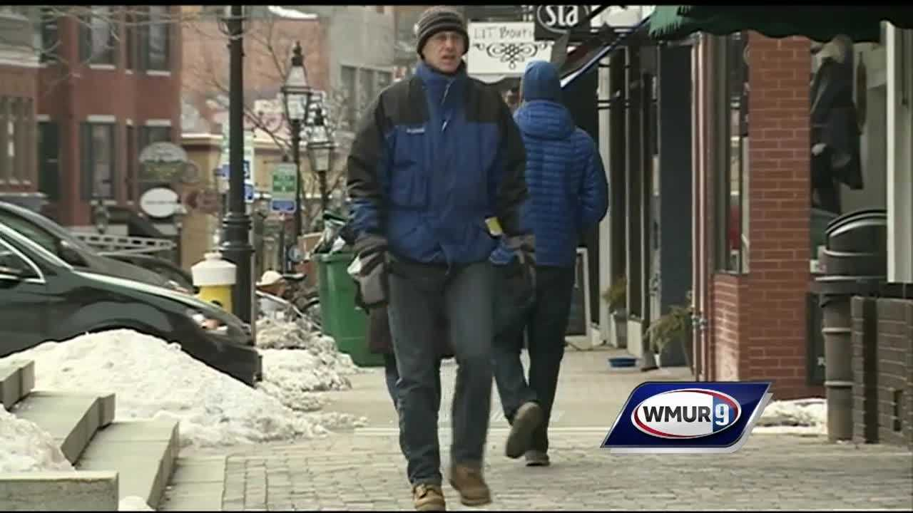 Frigid weather moved into New Hampshire over the weekend, and Granite Staters on Monday were still dealing with the intense cold.