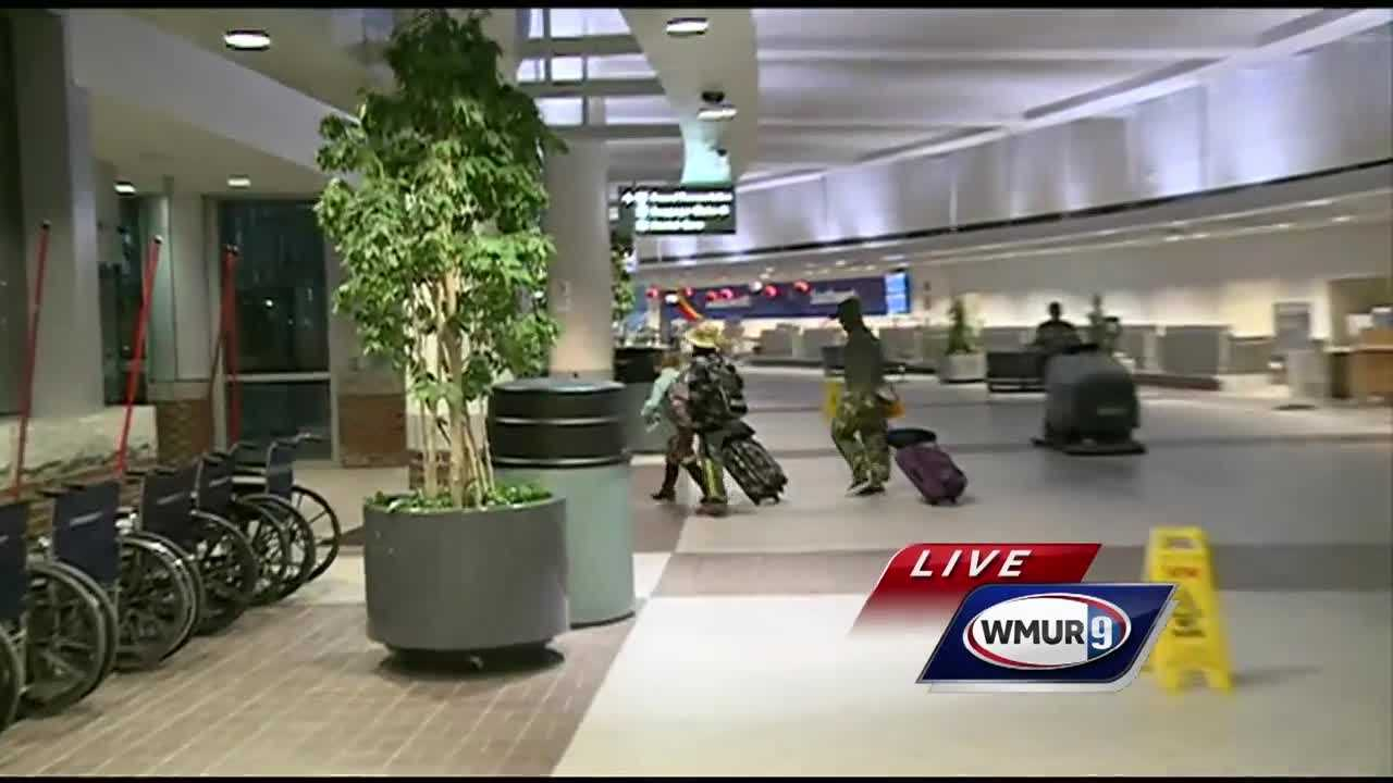 A flight from the Dominican Republic to New York City was diverted to New Hampshire on Monday night.