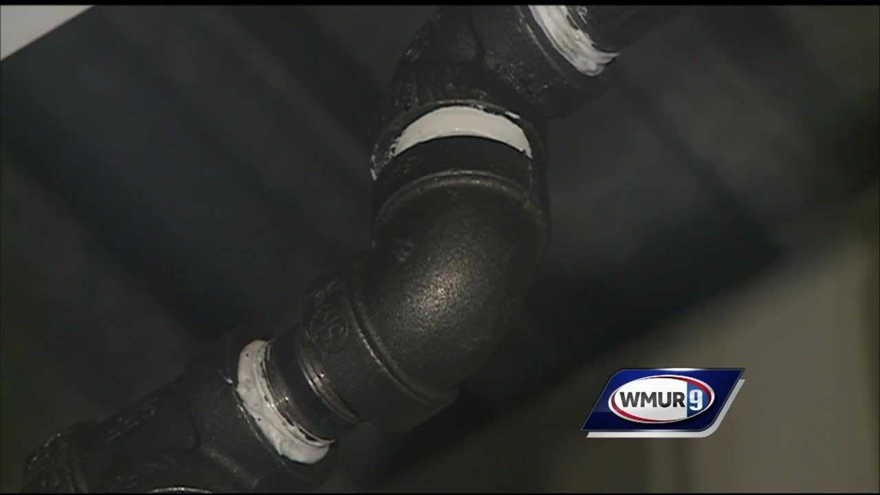 Residents across the Granite State had problems with frozen pipes on Monday.