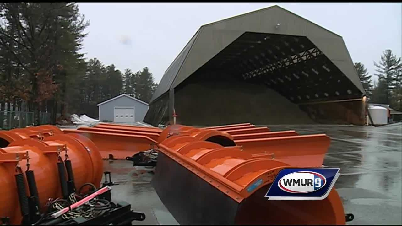 Amid warm winter temperatures, NHDOT says it's spent one-third less on snow mitigation than last year.