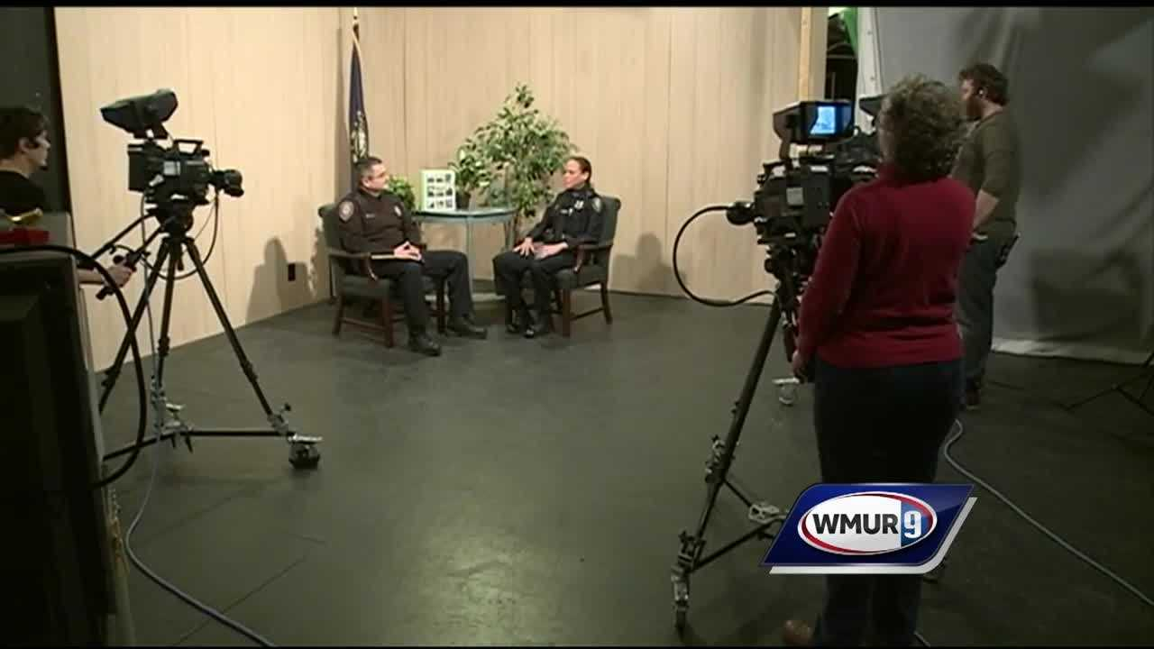 Portsmouth's interim police chief is making a push for full transparency in the police department, and he's taking the initiative to the television airwaves.
