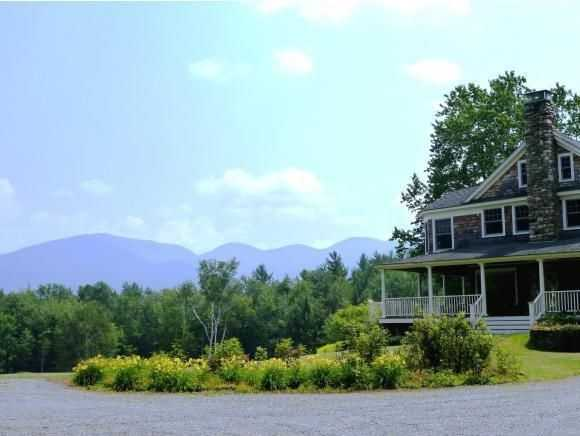 This gorgeous home located in Franconia is situated on 20+/- acres of land and includes breathtaking views of Franconia Notch from the property.