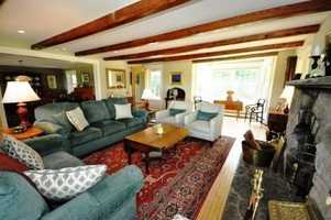 Maple flooring is used throughout the home which has recently been updated.