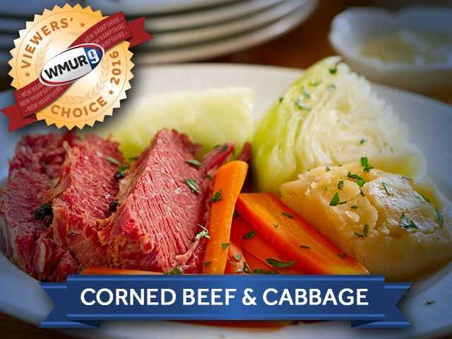 With Saint Patrick's Day around the corner, we asked our viewers who serves the best corned beef and cabbage in the Granite State. Take a look at the top responses!