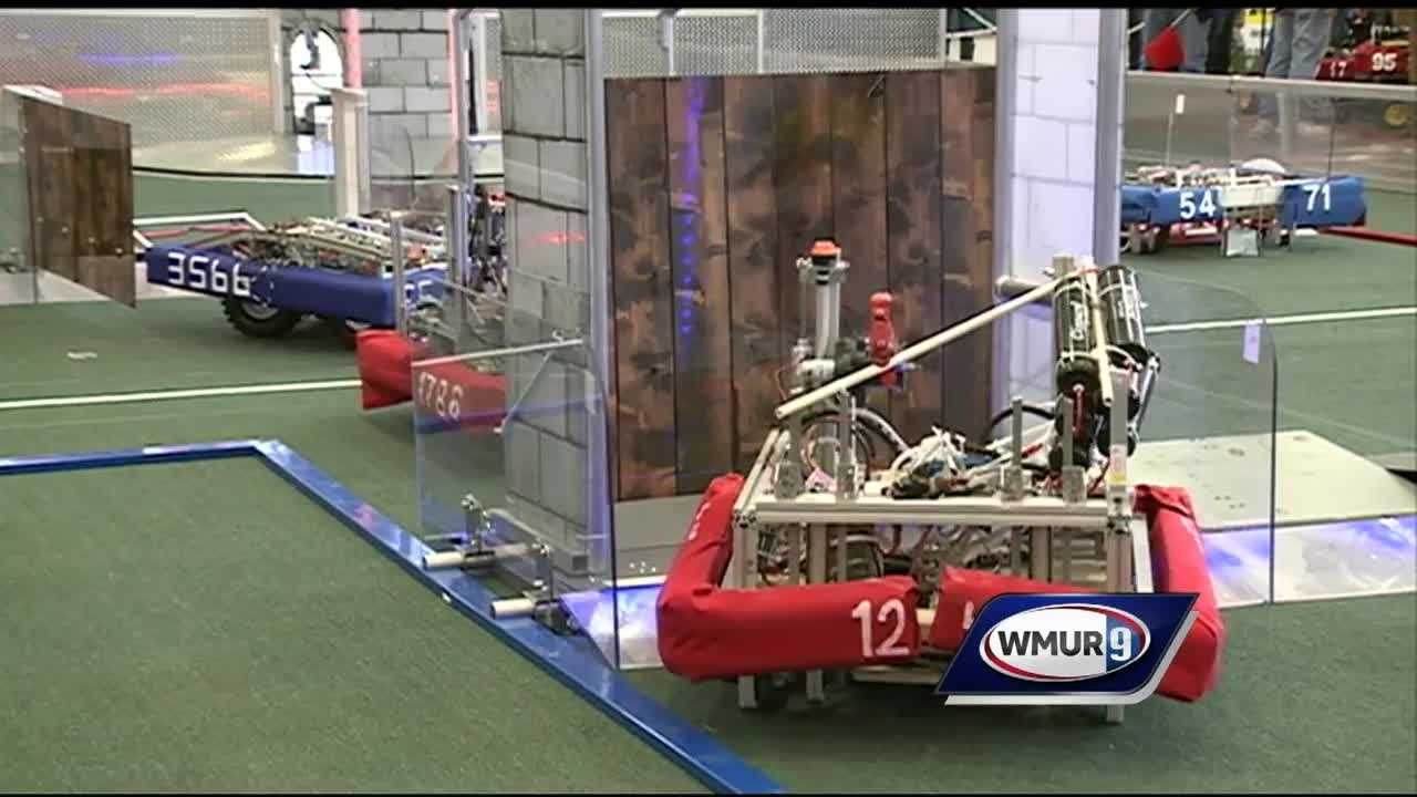 As a statewide robotics competition gets underway this weekend in Windham, dozens of teams from across New England are getting geared up.