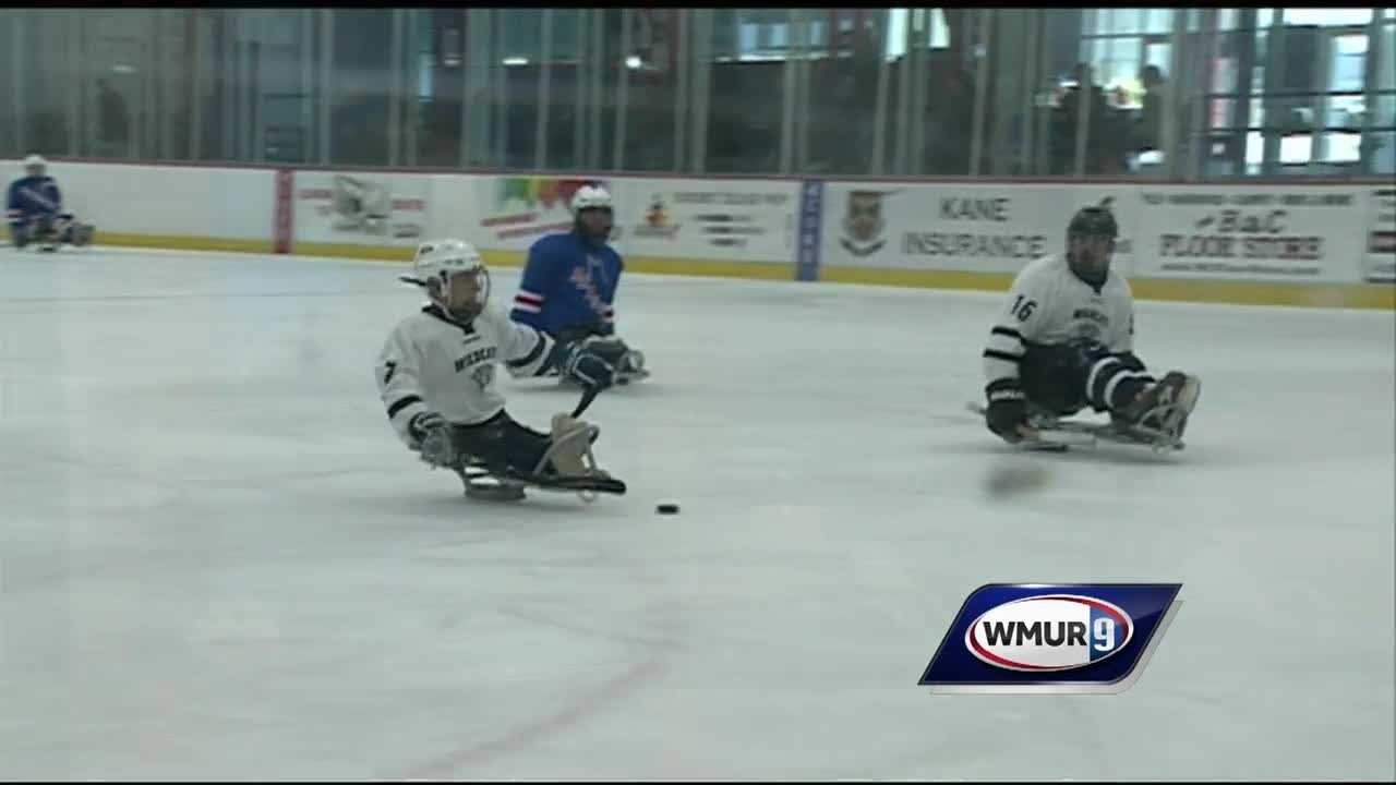 A 2-day sled hockey tournament in Exeter is coming to an end today.