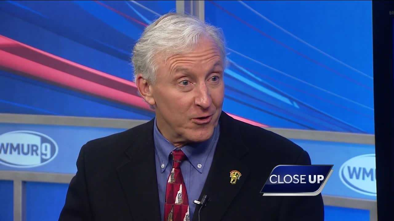 Jim Rubens sits down with WMUR Political Director Josh McElveen on CloseUP.