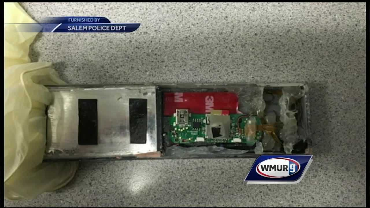 A skimming device was found on an ATM in Salem Sunday, according to police.