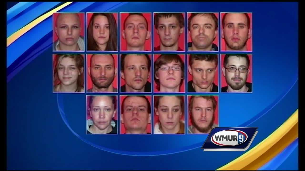 A day after Laconia police arrested 16 people suspected of dealing drugs, nearly all were released on personal recognizance.
