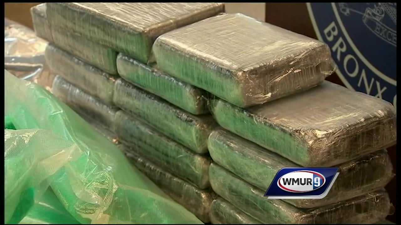 Police in New York City are celebrating what they called a major bust in the pipeline that brings heroin and cocaine to New Hampshire.