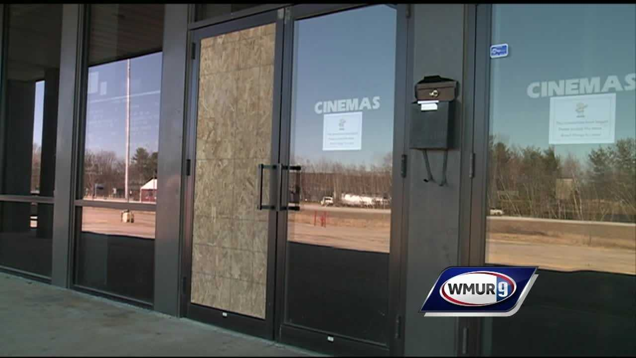 Gilford police are seraching for the suspect or suspects who smashed windows at the Airport Plaza. The movie theater there is offering a year of free movies as a reward.