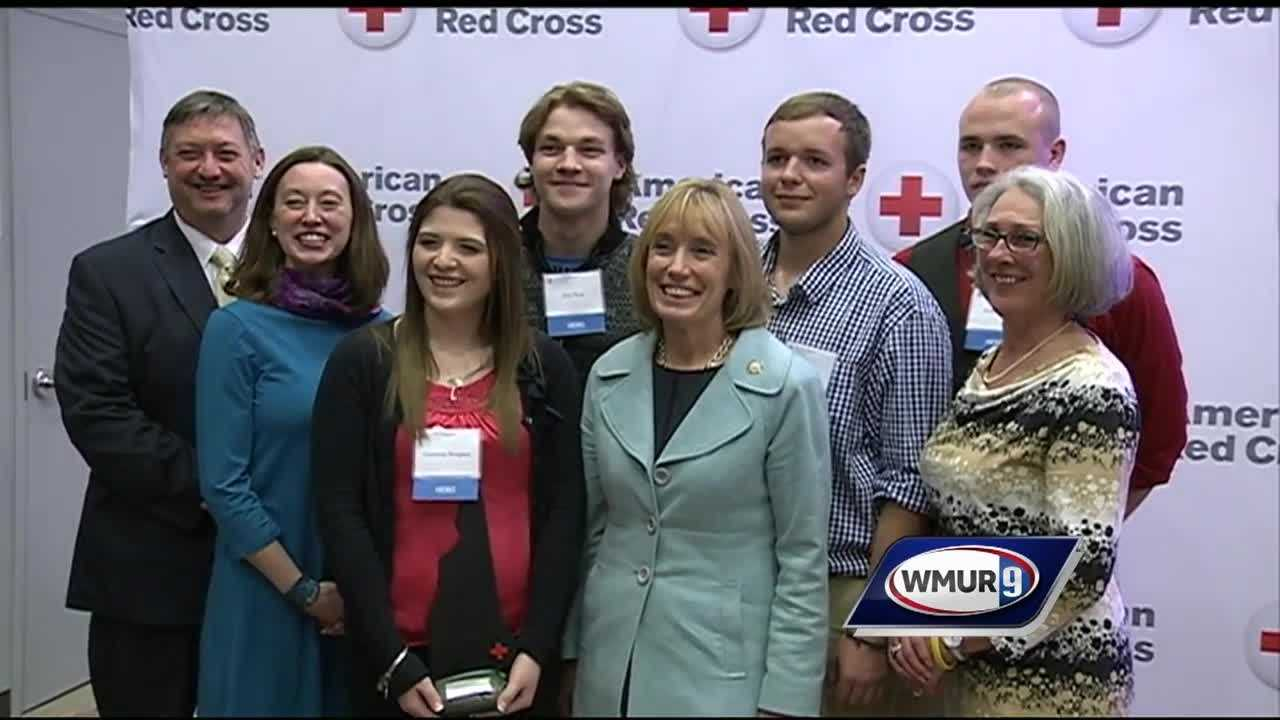 Granite Staters honored for stepping up in times of need