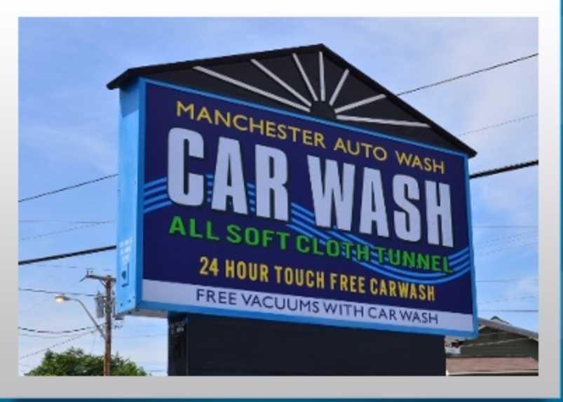 8 tie. Manchester Auto Wash in Manchester