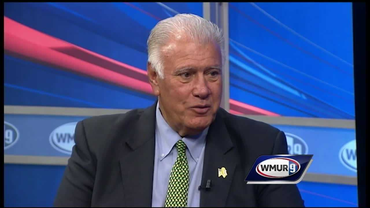 Ted Gatsas is running for a fifth term as Manchester's mayor.