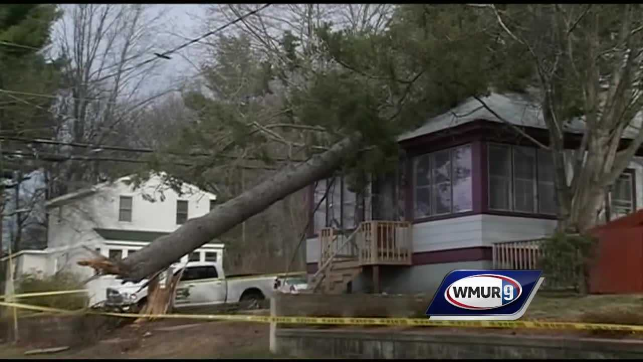 Following intense winds, many Granite Staters were cleaning up Thursday night.