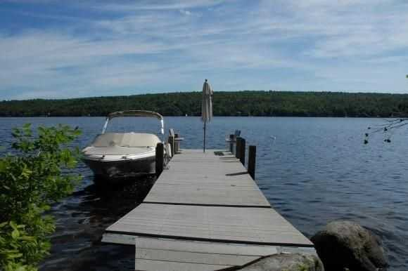 You have your own private lakefront access including a dock where you can store your boat for quick trips around the lake.