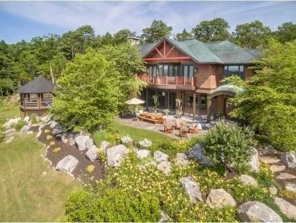 Situated on 140 acres of land, you will have plenty of space and privacy.