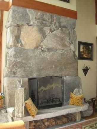 On colder days and nights you can light the wood burning fireplaces to help keep out the winter chill.