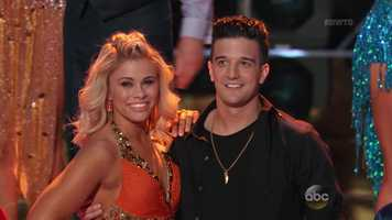 American mixed martial artist Paige VanZant is dancing with Mark Ballas.