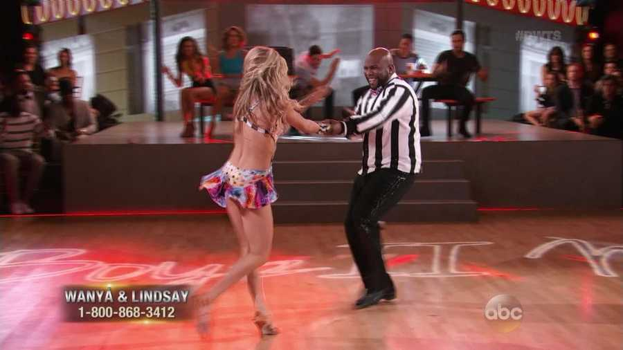 "Morris danced the Cha Cha with Lindsay Arnold to Boyz II Men's first big hit ""Motownphilly."" Len said Morris' timing was perfect and easy. Carrie Ann said Morris was ""a total twinkle toe in the making!"""