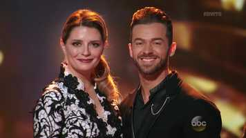 O.C. star Mischa Barton is dancing with Artem Chigvintsev.