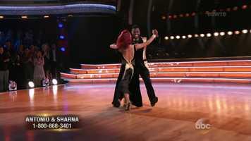 Scores:Carrie Ann - 8 | Len - 6 | Bruno - 7Total: 21/30