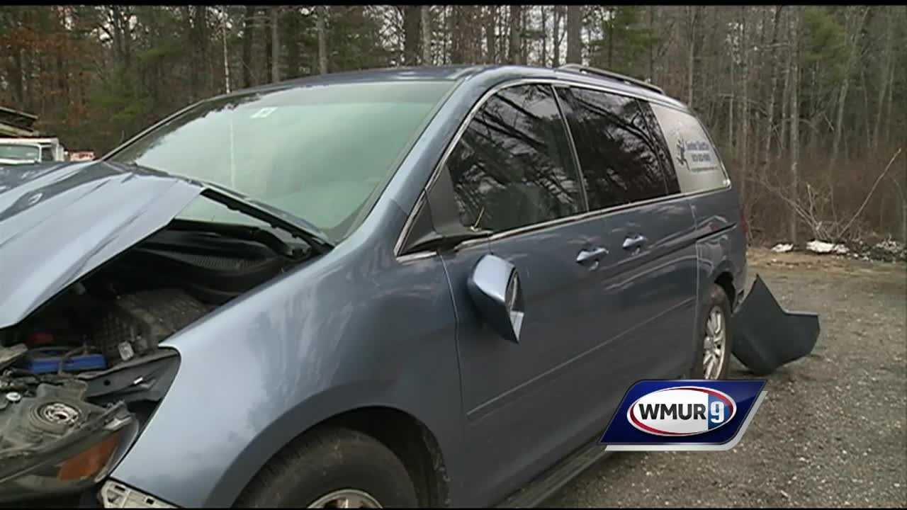 The Rockingham Nutrition and Meals on Wheels program is in need of a new van after its was totaled in a crash.