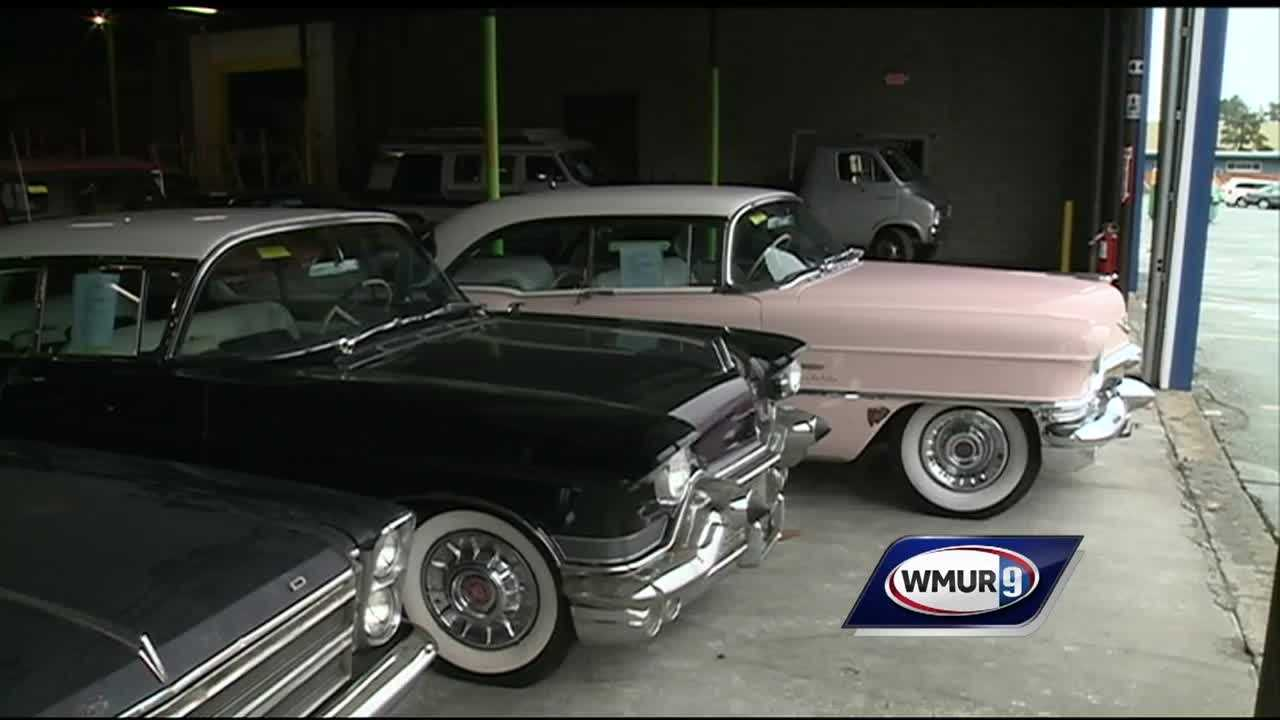 A company is restoring 18 Cadillacs that were found in a barn in Winchester.