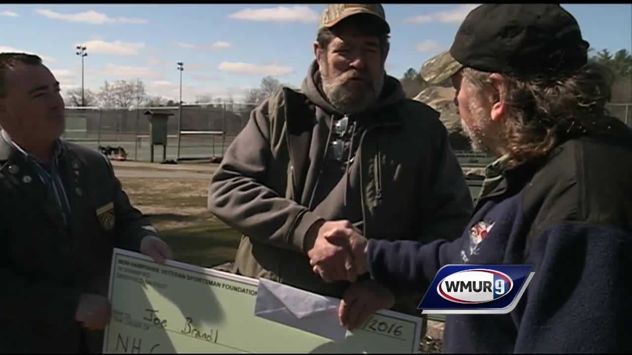 The New Hampshire Veterans Sportsmen Foundation is a new local group which aims to buy hunting and fishing licenses for New Hampshire veterans who can no longer afford them.
