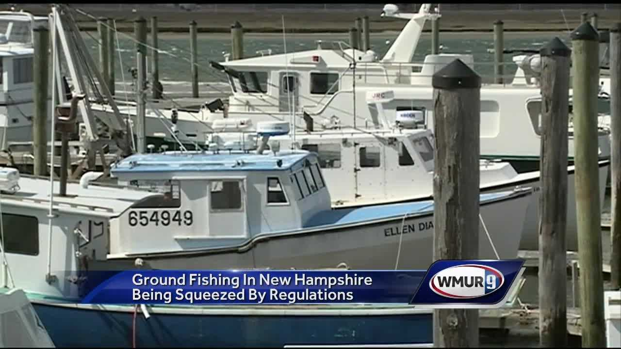 The number of New Hampshire boats fishing for groundfish has continued to decline, with only five full-time groundfisherman left in the state.