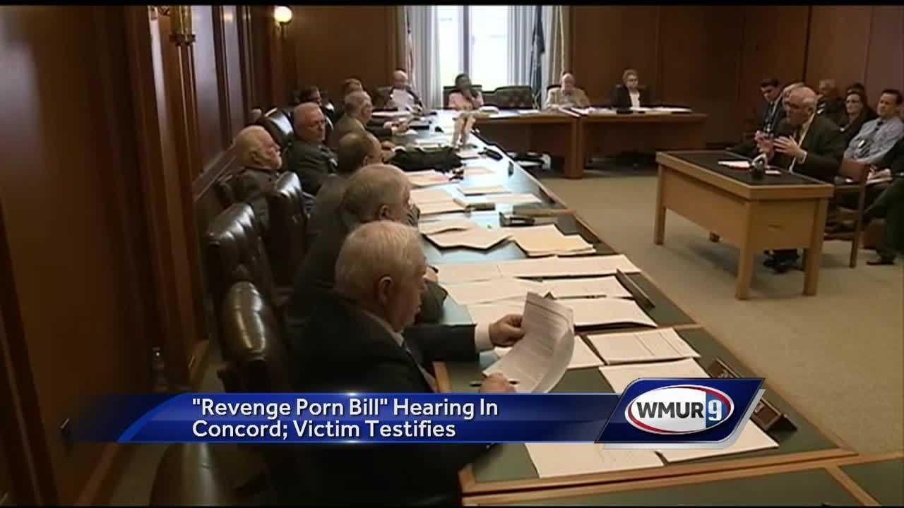 A House committee heard from a victim of so-called revenge porn as committee members considered a bill that would make it illegal.