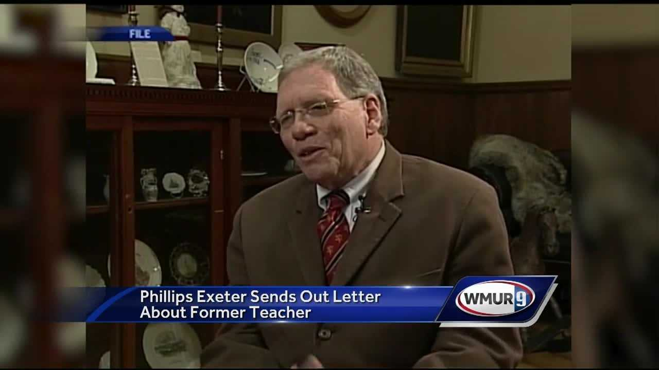 The principal of Phillips Exeter Academy has apologized after allegations of sexual misconduct against a former faculty member surfaced this week.