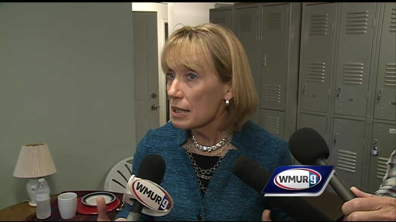 Gov. Maggie Hassan on Friday defended her judgment in placing on a 2012 gubernatorial campaign steering committee a former Phillips Exeter Academy faculty member who was forced to resign after admitting to two decades-old cases of sexual misconduct.