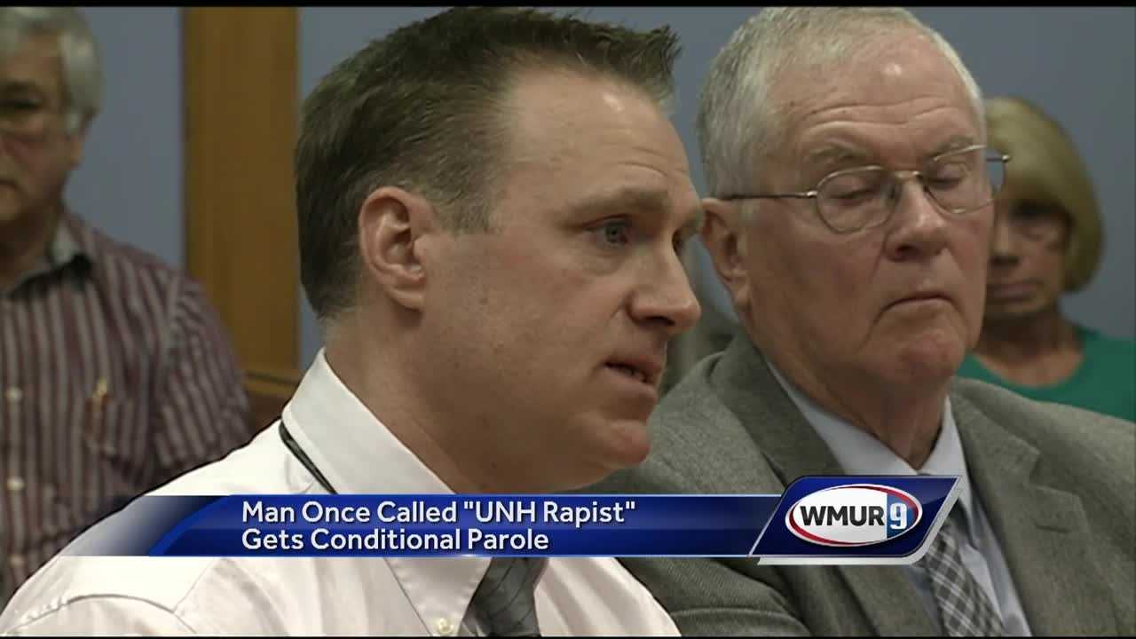 "A man dubbed the ""UNH rapist"" has been granted parole after serving more than 25 years in prison."