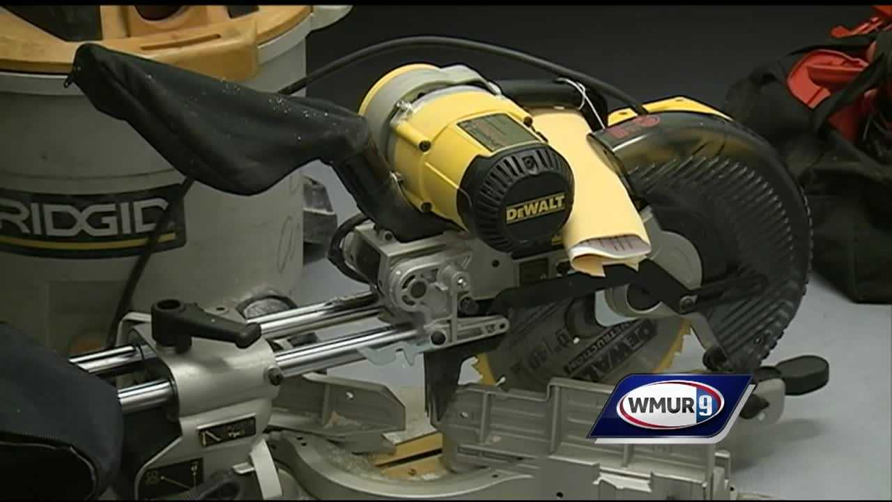 Police in Alexandria said they have seized nearly 60 power tools reported stolen from at least two job sites in the Lakes Region.