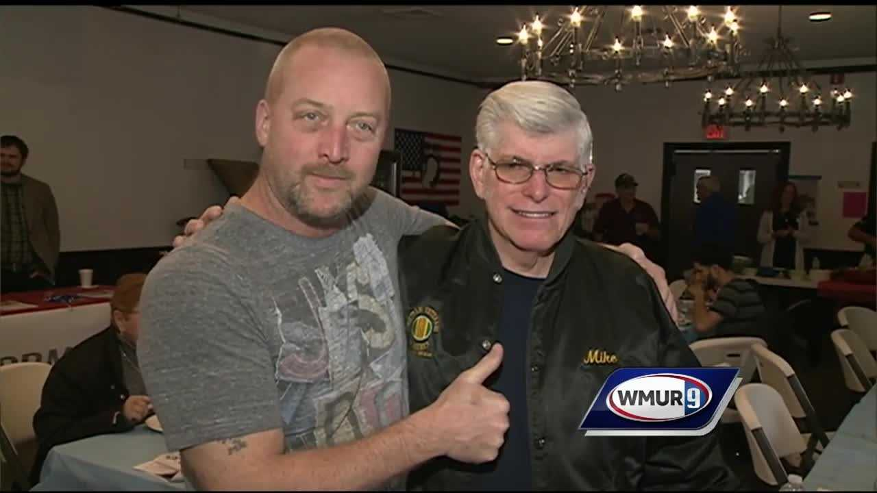 Military service members and their families were invited to the Merrimack VFW for a veterans' fair Saturday afternoon.
