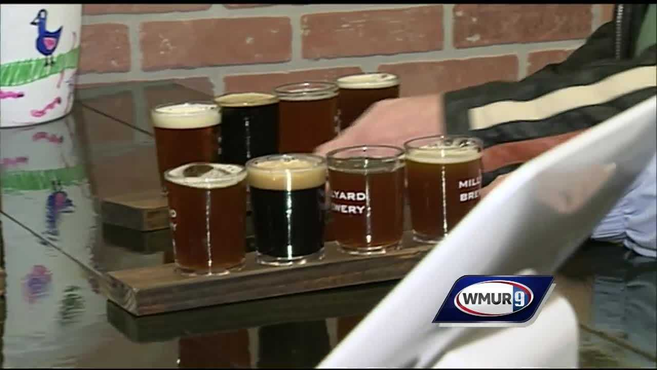 A brewery officially opened in Nashua Saturday during New Hampshire Beer Week.
