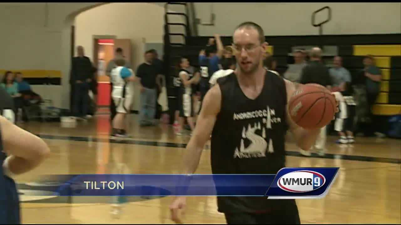Special Olympics New Hampshire hosts a basketball tournament in the lakes region.