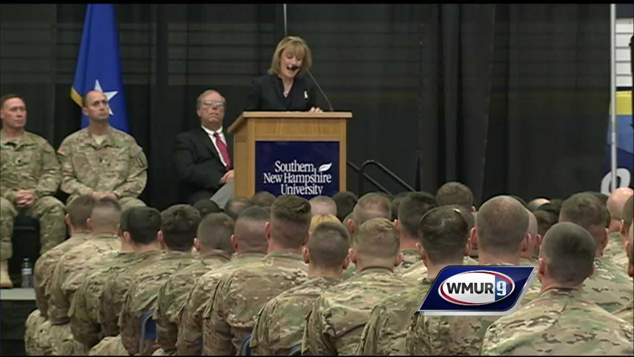 The Granite State welcomed home citizen soldiers who spent most of 2015 overseas.