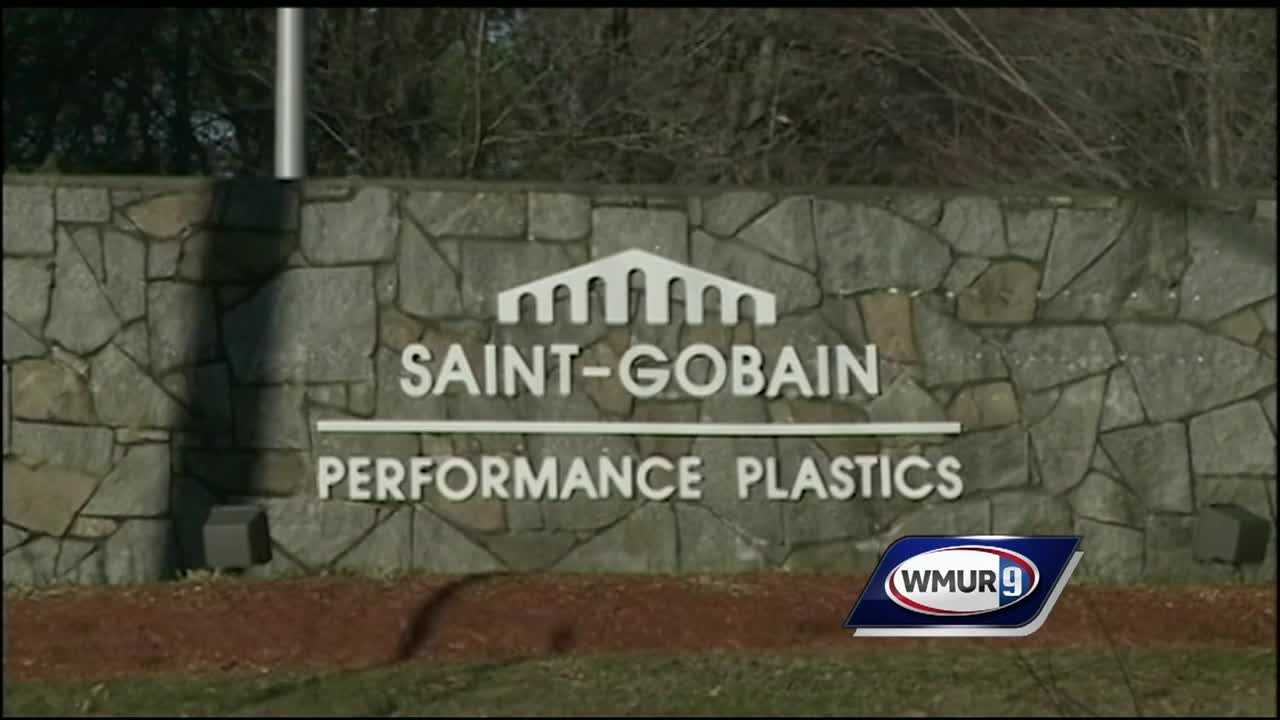 On Sunday, residents of Litchfield and Merrimack who live within one mile of the Saint-Gobain Performance Plastics facility were allowed to pick up a month's supply of bottled water at the Litchfield Recycling Center, in addition to delivered bottled water paid for by the company.