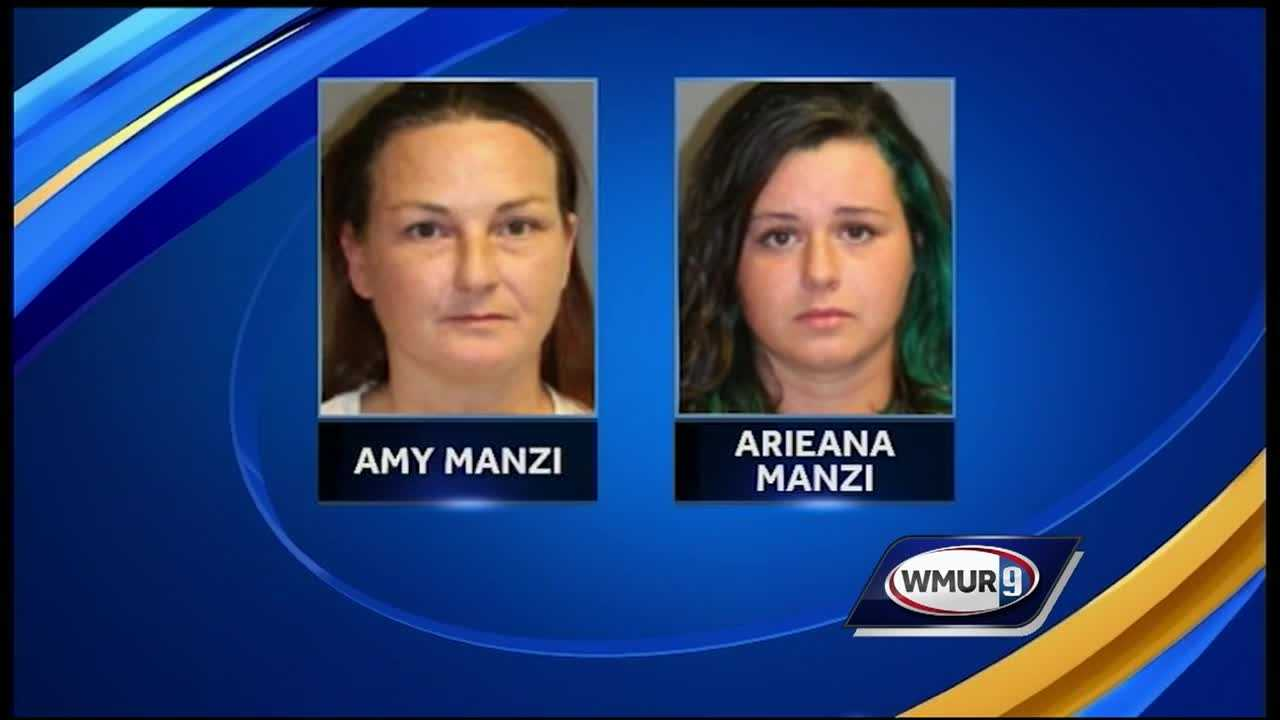 A mother and daughter in Nashua were arrested Friday and charged with selling heroin.