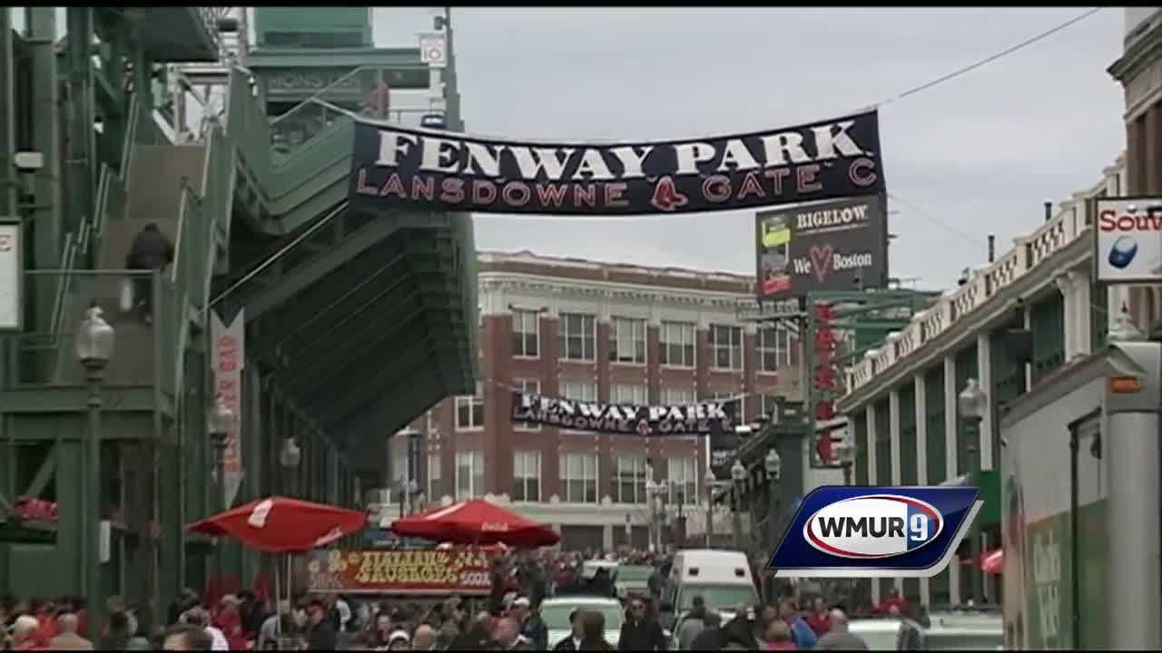 Red Sox fans gathered Monday for Opening Day at Fenway Park, the final one for slugger David Ortiz.