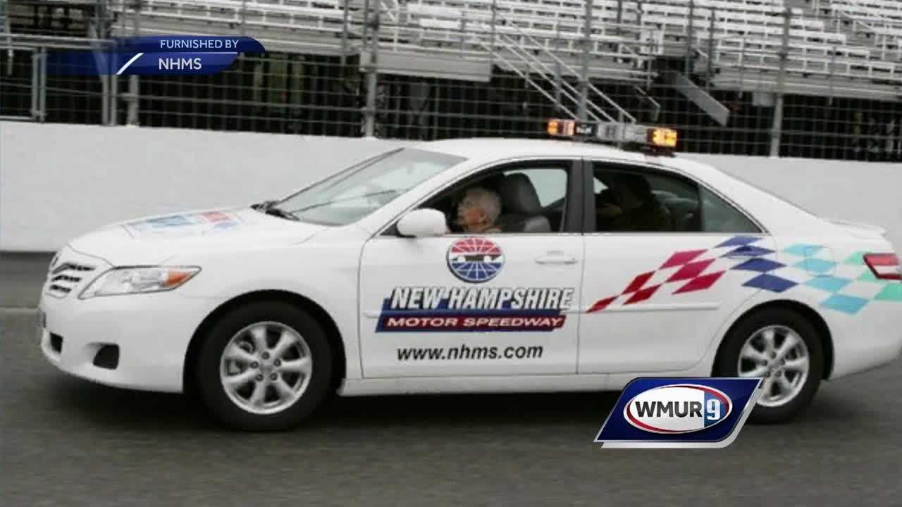 The New Hampshire Motor Speedway's oldest racecar driver has passed away.