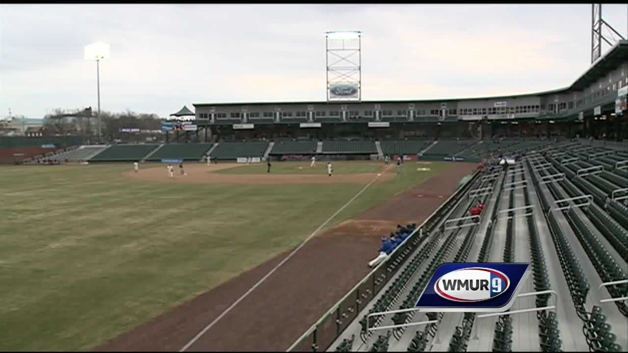 The New Hampshire Fisher Cats faced off against a new team Monday night -- the Hartford Yard Goats.