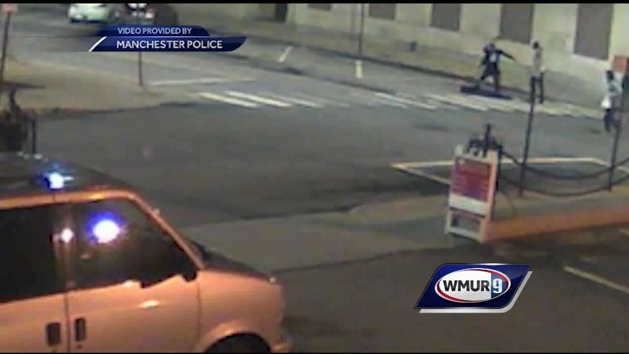 Manchester police are looking for the public's help in identifying a person who beat a man with a baseball bat earlier this month.