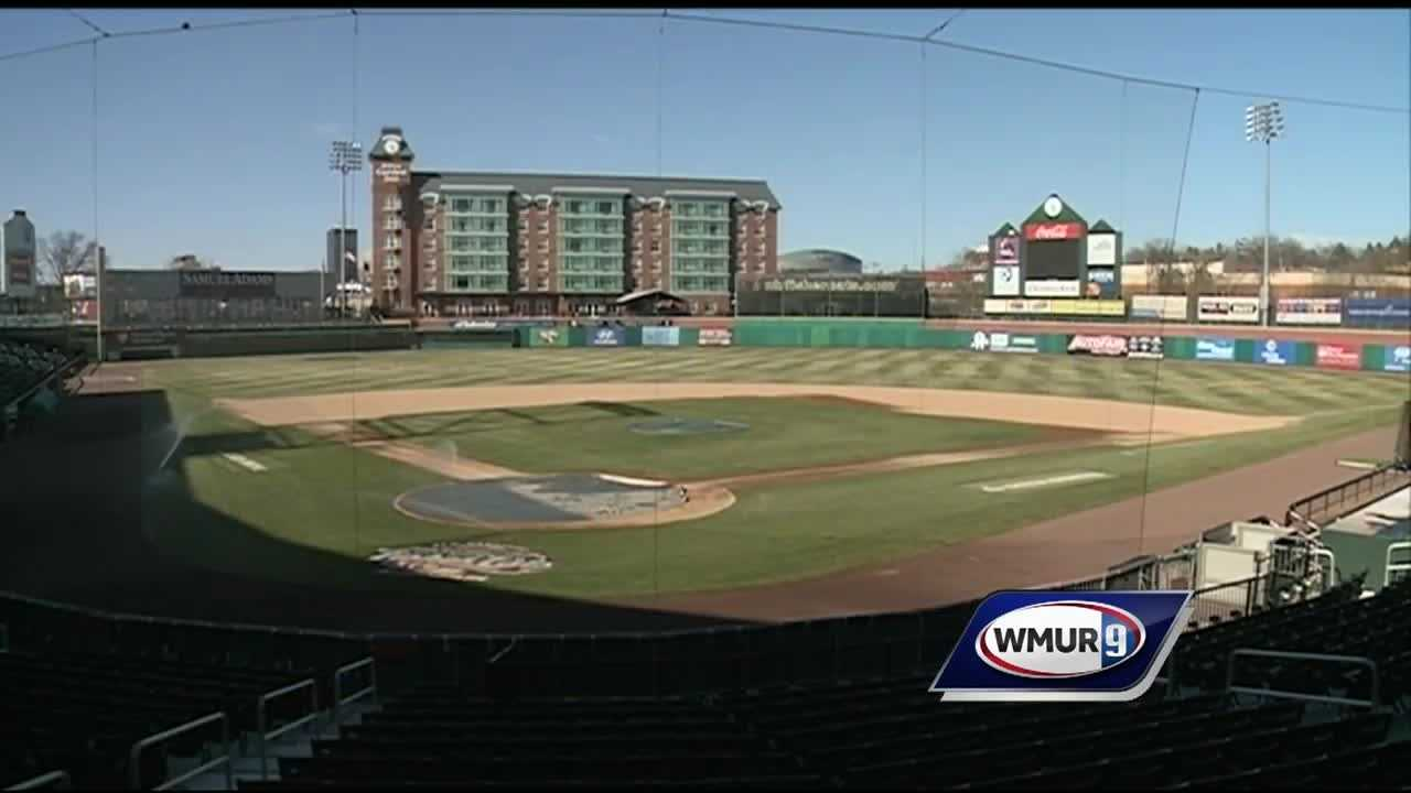 Chief Meteorologist Mike Haddad is seeing what preparations are being made as the Fisher Cats prepare for their home opener.